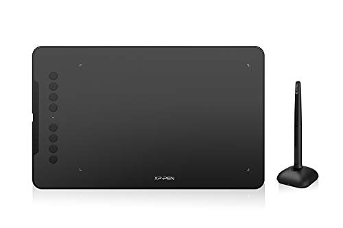 XP-Pen Deco 01 V2 Drawing Tablet 10x6.25 Inch Graphics...