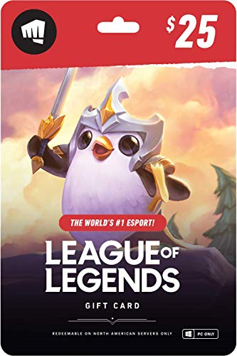 League of Legends $25 Gift Card - NA Server Only [Online...