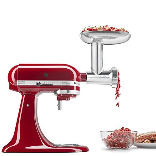 KitchenAid KSMMGA Metal Food Grinder Attachment, 2.5 lb,...