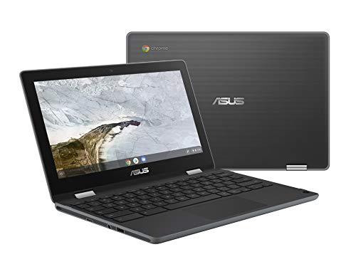 "ASUS Chromebook Flip C214 2-In-1 Laptop- 11.6"" Ruggedized..."