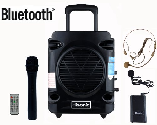 Hisonic HS700 True RMS 35 Watts Rechargeable & Portable PA...