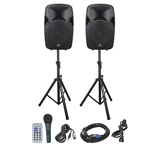 PRORECK PARTY 12 Portable 12-Inch Woofer 2-Way Powered PA...