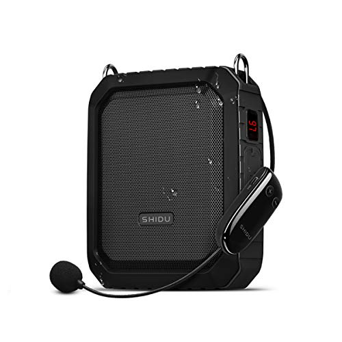 Wireless Voice Amplifier with UHF Portable Microphone...