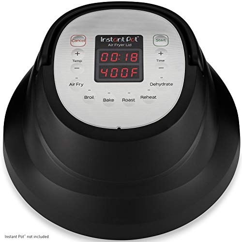 Instant Pot Air Fryer Lid 6 in 1, No Pressure Cooking...