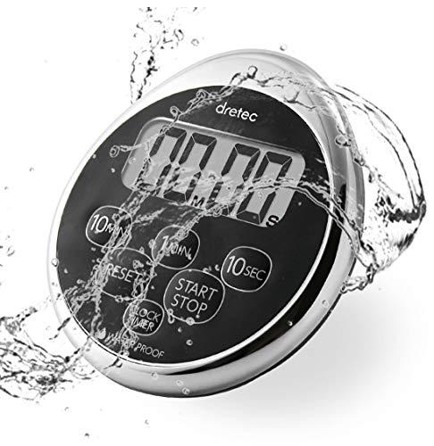 dretec Digital Timer Water Proof Shower Magnetic Backing...