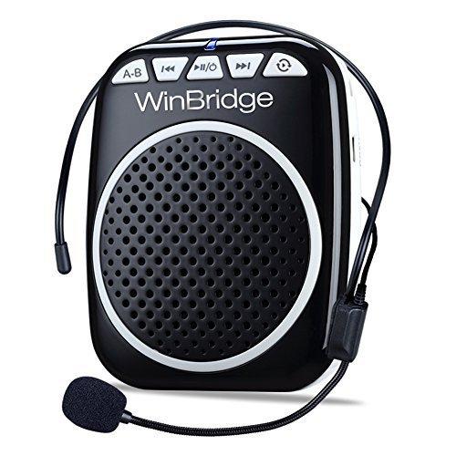 W WINBRIDGE WB001 Portable Voice Amplifier with Headset...