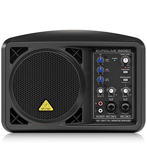 Behringer Eurolive B205D Ultra-Compact 150-Watt PA/Monitor...