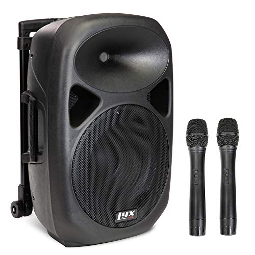 LyxPro 12 Inch Active PA Rechargeable Battery Speaker...