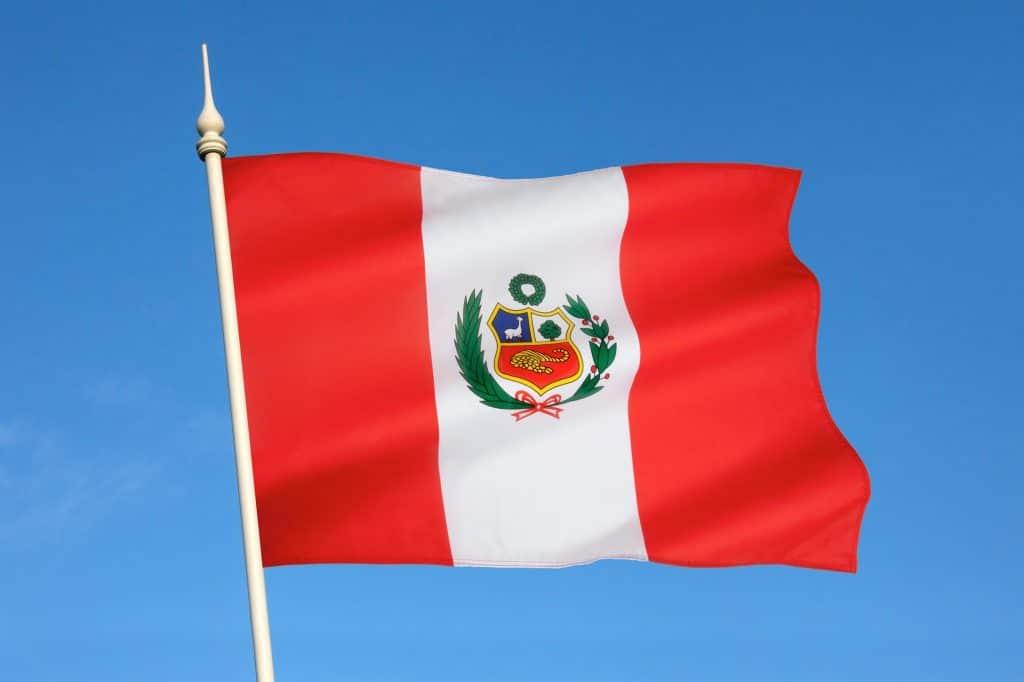 National flag of Peru