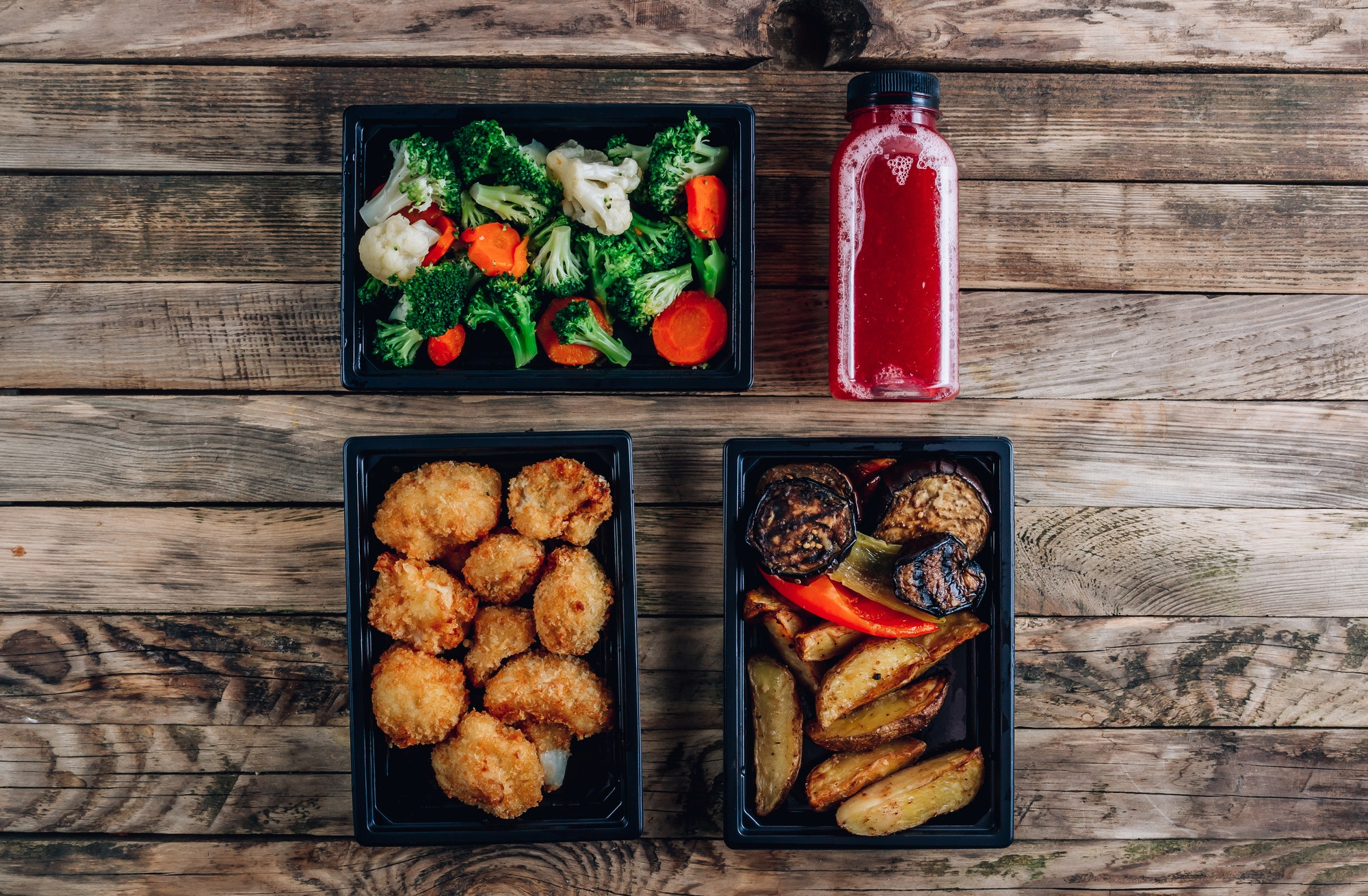 Office food delivery takeout lunch boxes containers
