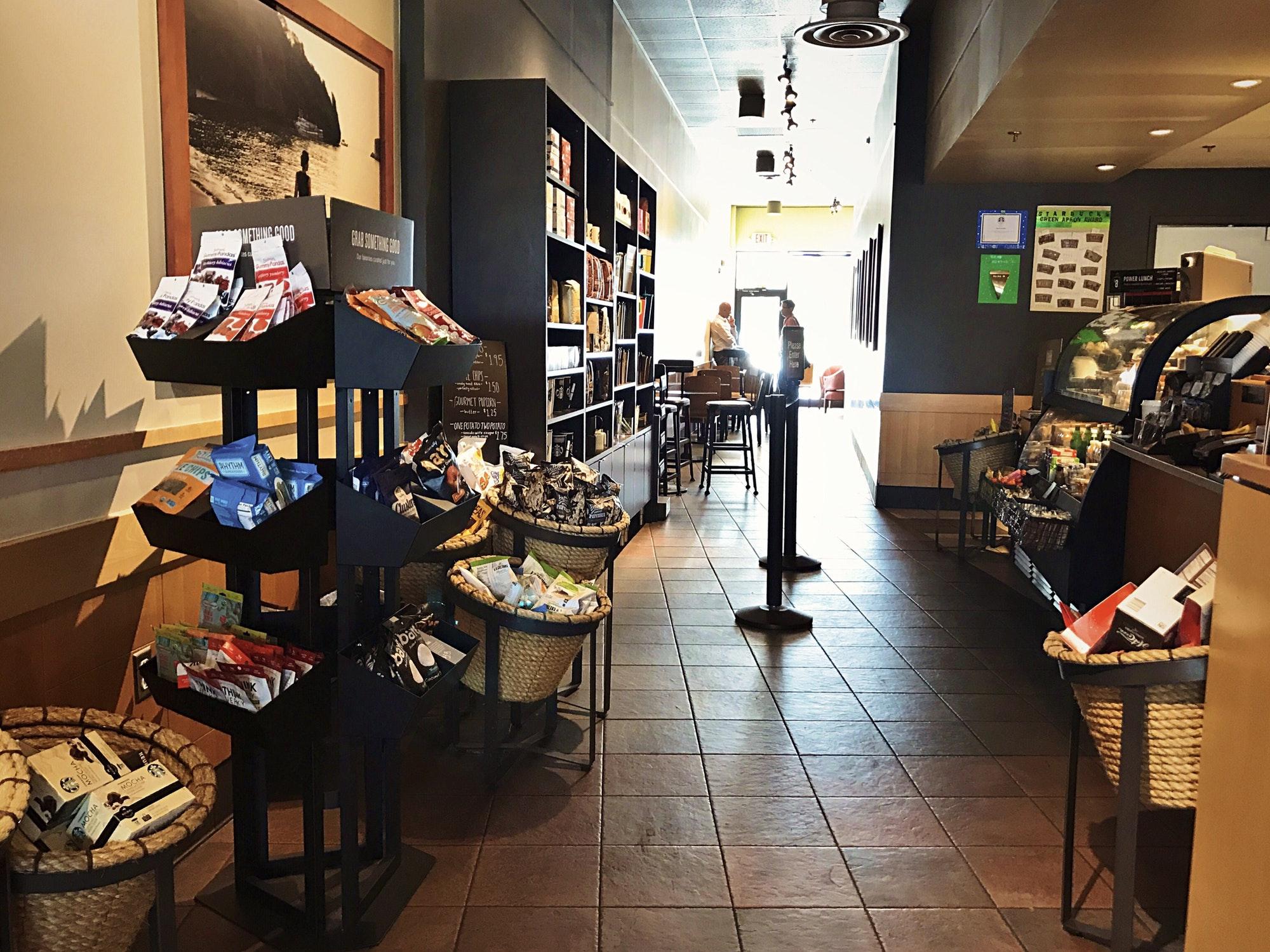 Starbucks Interior Shot