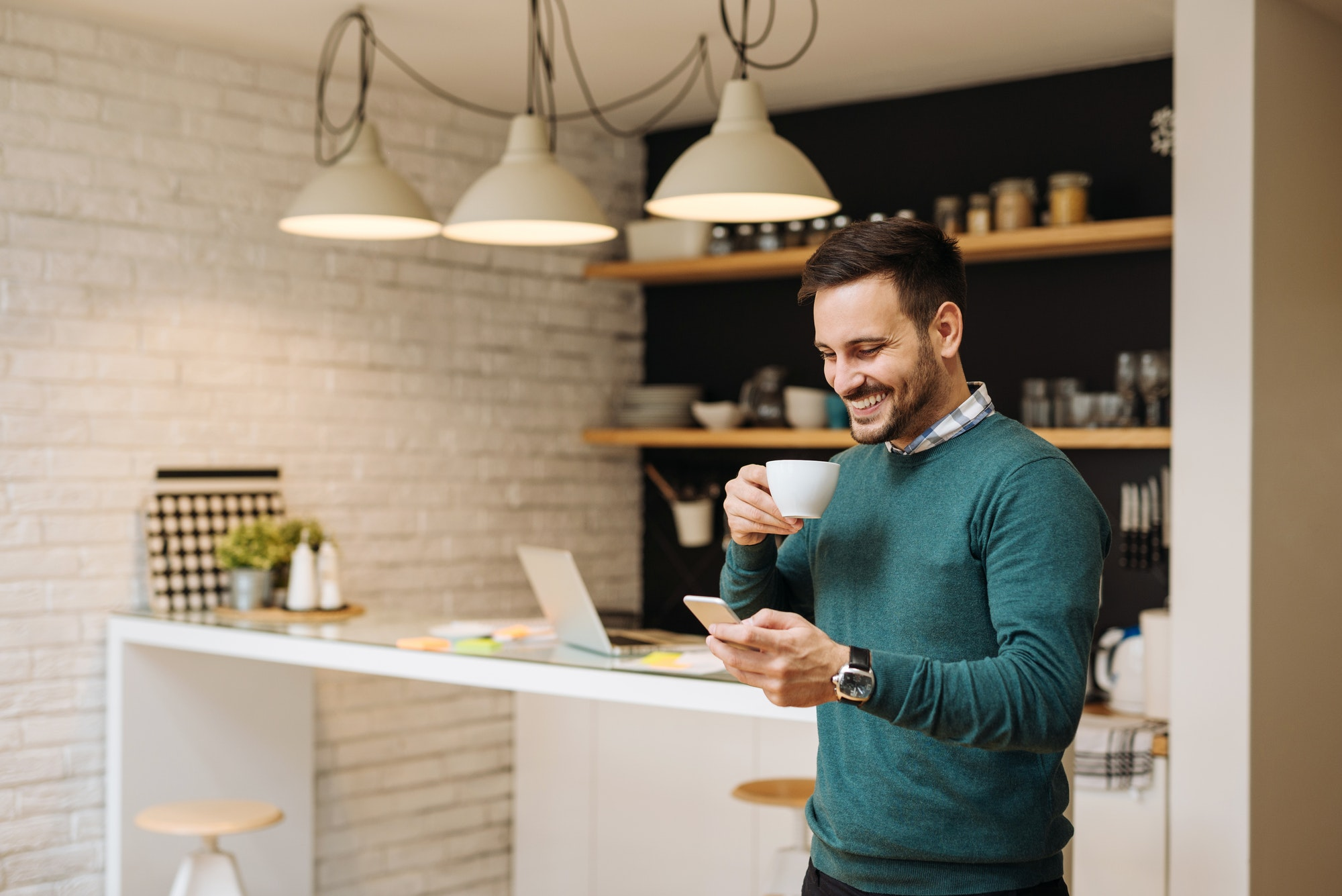 Wi fi and coffee